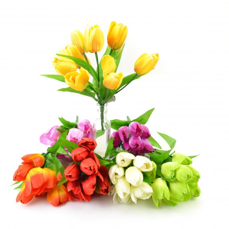 Kwiat sztuczny bukiet tulipanów