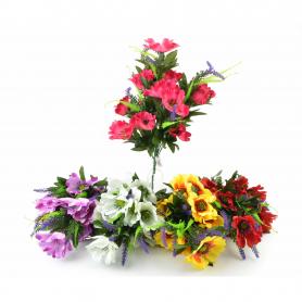 Kwiaty sztuczne bukiet anemona