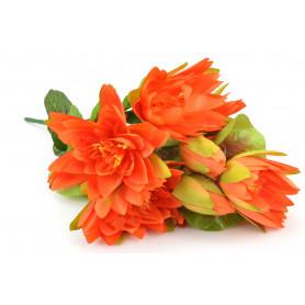 Kwiaty sztuczne bukiet lotosa