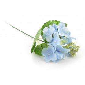 Kwiat sztuczny pojedyńcza hortensja