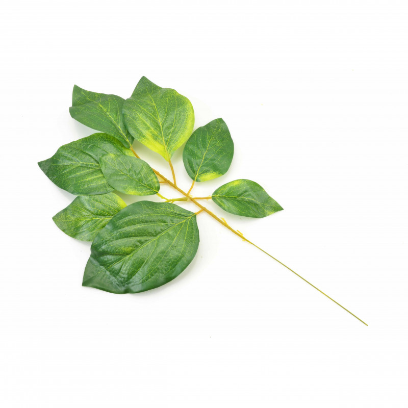 Kwiaty sztuczne liść mały rozłożysty