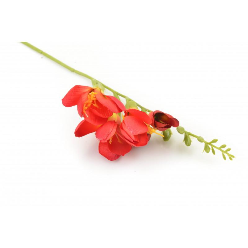 Kwiat sztuczny pojedyńcza frezja 60cm