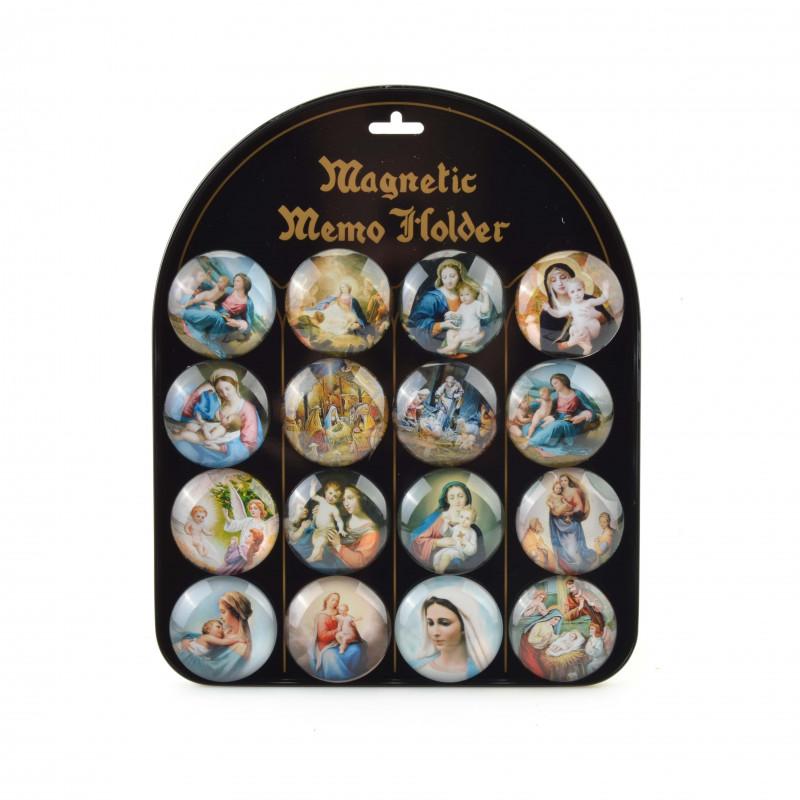 Szklane magnesy 5cm ŚWIĘTE POSTACIE