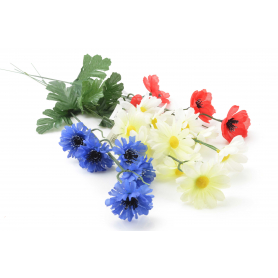 Kwiaty sztuczne mix kwiatów polnych