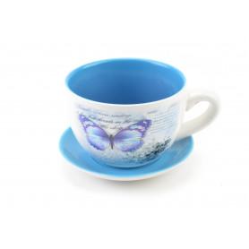 Ceramiczna donica FILIŻANKA