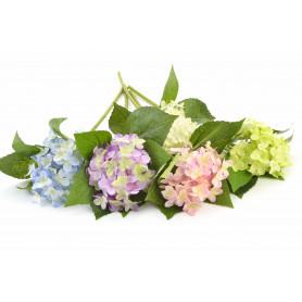 Kwiat sztuczny hortensja poj. 45cm