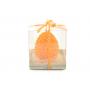 Świeca zap.jajko wycinanka 10cm