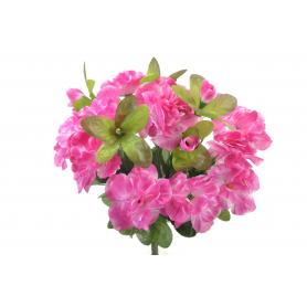 Kwiaty sztuczne bukiet azalii 32cm