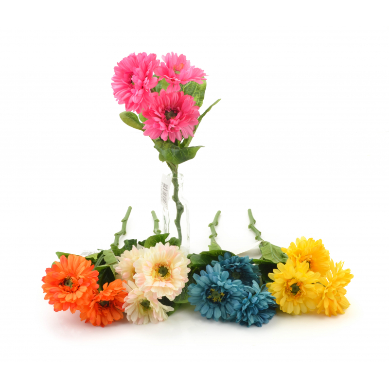 STOKROTKA (gałązka)-Kwiat sztuczny
