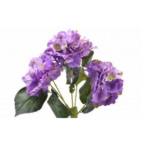Kwiat sztuczny bukiet hortensji