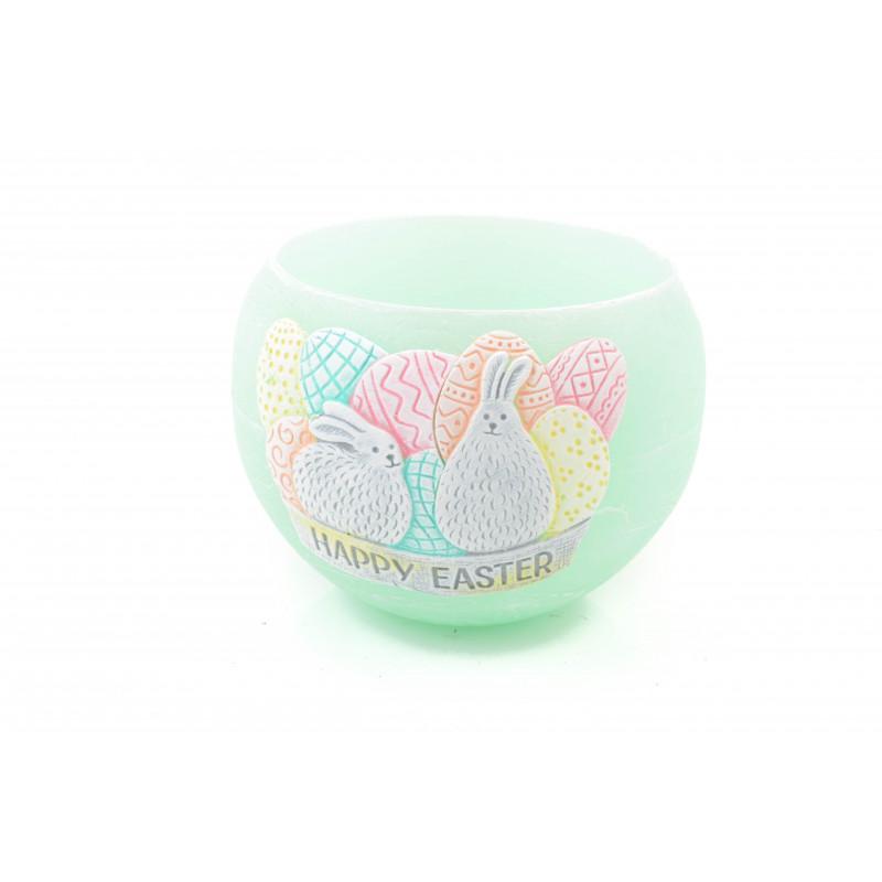 Świeca Happy Easter lampion 120 mm