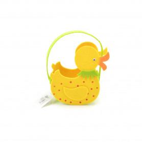 Wielkanoc torebka filcowa KACZKA 19x14x7