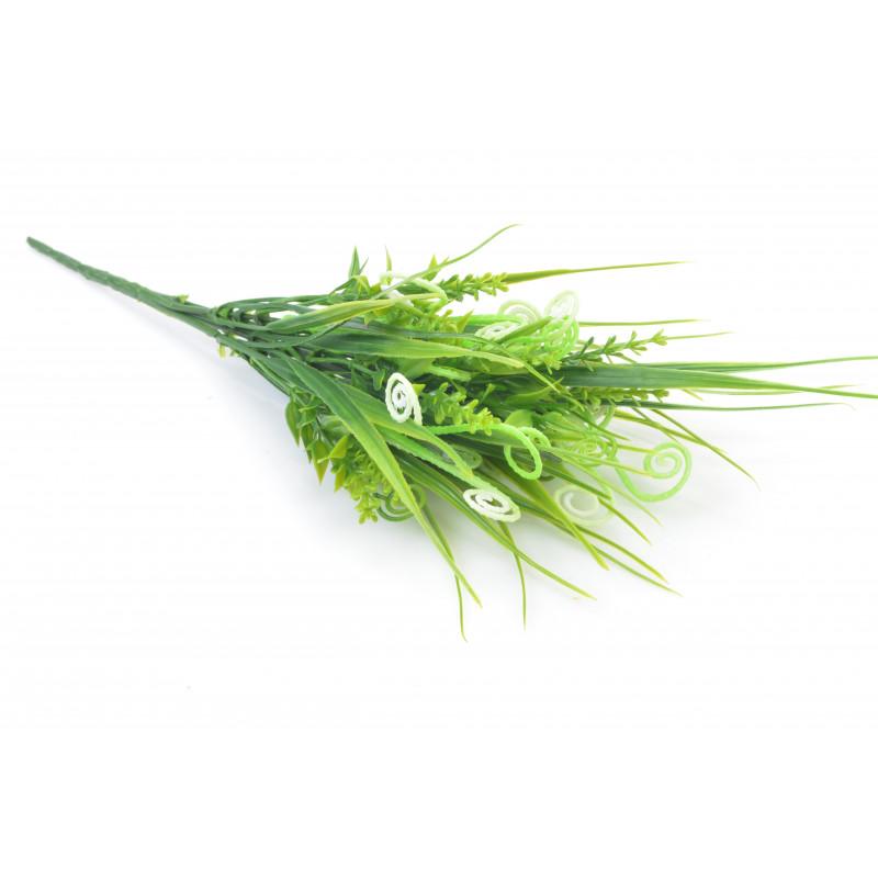 Kwiaty sztuczne: plastik bukiecik 33cm