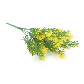 Kwiaty sztuczne: plastik bukiecik 30 cm