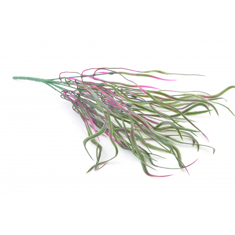 Kwiaty sztuczne: plastik bukiecik trawy