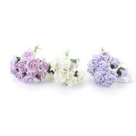 Kwiaty sztuczne pianka pik 12cm