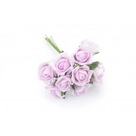 RÓŻA (bukiecik)-Kwiaty sztuczne