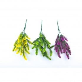 Kwiaty sztuczne: plastik bukiecik 34 cm
