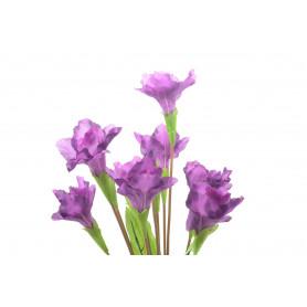 Искусственные цветы: букет ирис lux