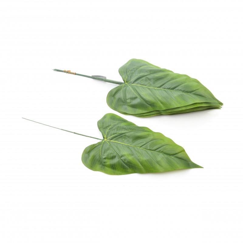 Kwiaty sztuczne liść calla/anturium 44cm