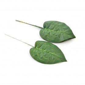 Kwiaty sztuczne difenbachia liść 41cm
