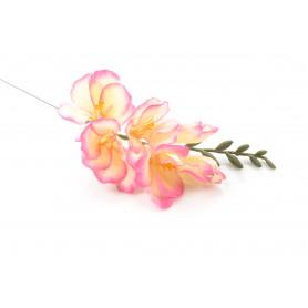 Kwiaty sztuczne frezja pojedyncza 37cm