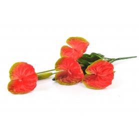 Kwiaty sztuczne bukiet anturium 57cm