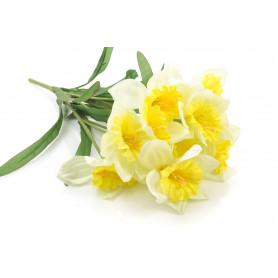 Kwiaty sztuczne narcyz 50cm