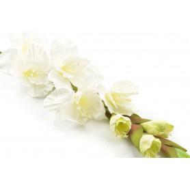 Искусственные цветы: гладиолус одиночные