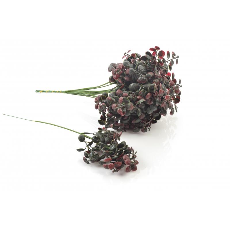 Kwiaty sztuczne borówka gałązka 34cm