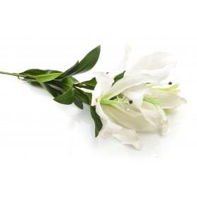 Kwiaty sztuczne lilia galązka 102cm