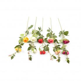 Kwiaty sztuczne gałązka róży 68cm