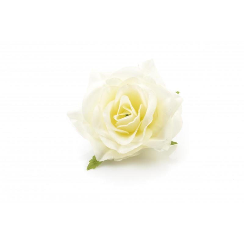 Kwiaty sztuczne róża scarlet wyrobowa