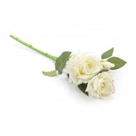 Kwiaty sztuczne róża pojedyncza krótka
