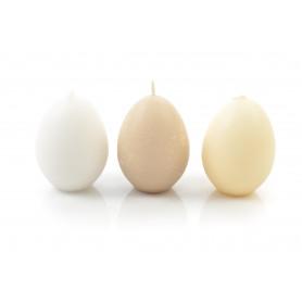 Świeca jajko 8x13cm