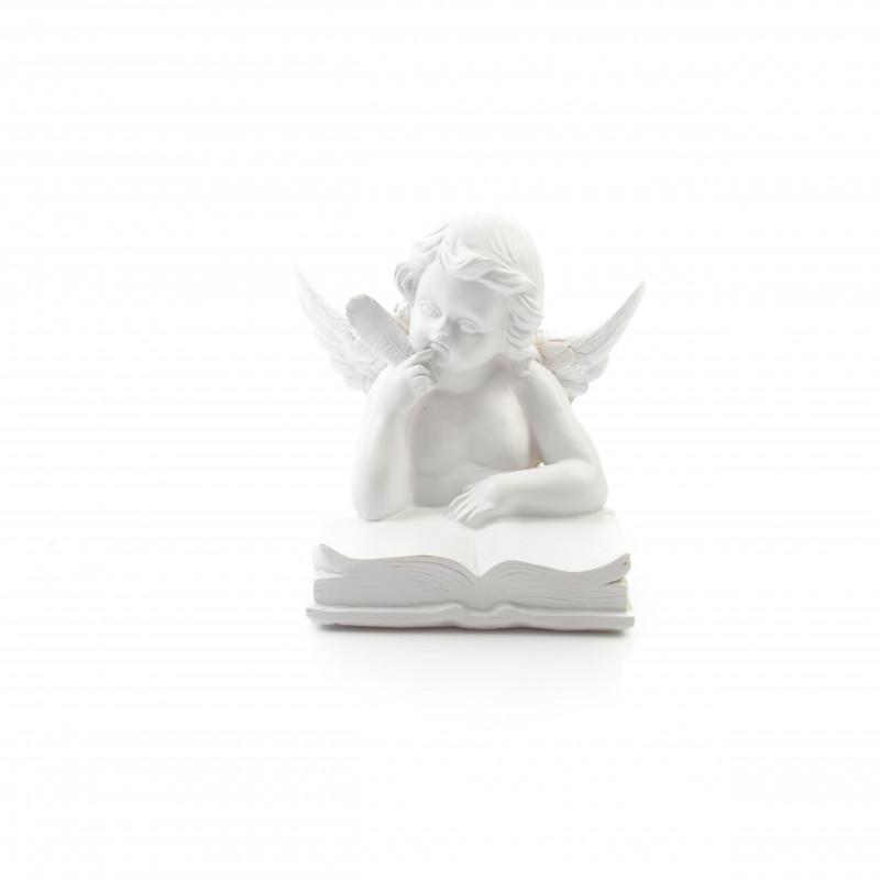 Tw.sztuczne anioł KSIĄŻKA 18cm