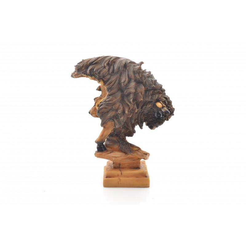 Figurka głowa żubra