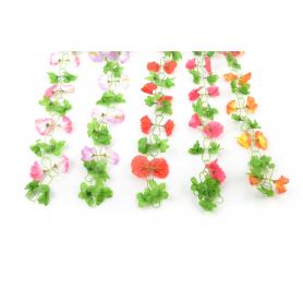 Kwiaty sztuczne girlanda hibiskus 200cm