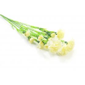 Kwiaty sztuczne goździk gałązka 60cm