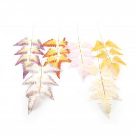 Kwiaty sztuczne liść pterys mix 56x30cm