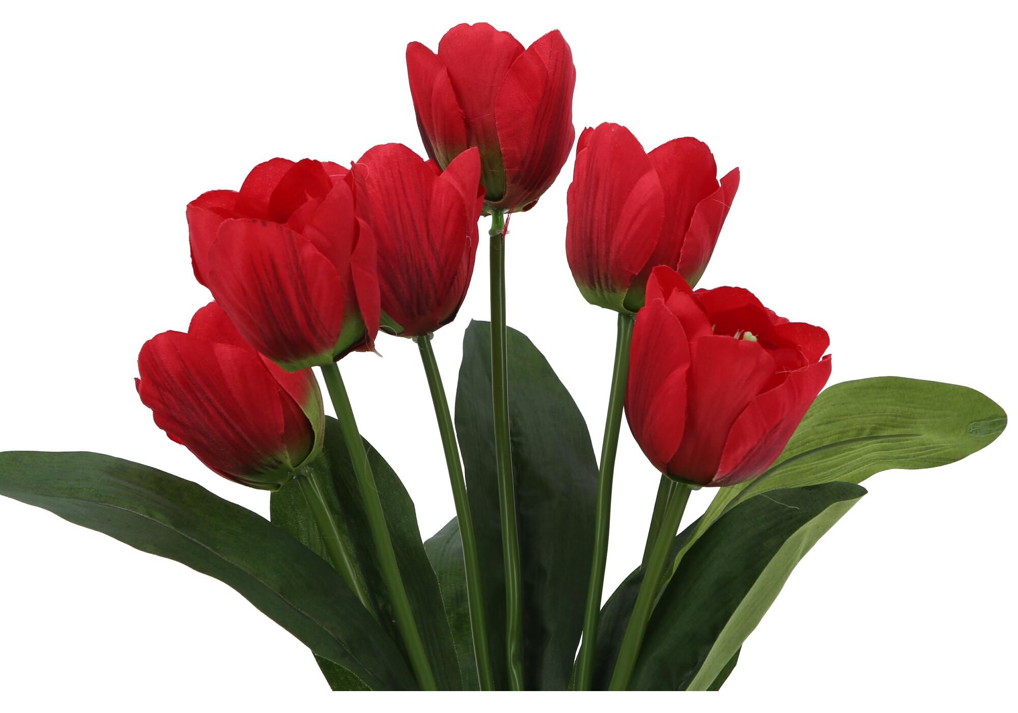 Kwiaty Sztuczne Bukiet Tulipan 53035